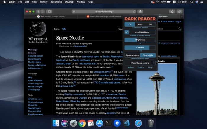 Dark Reader for Safari Screenshot 04 130gypn