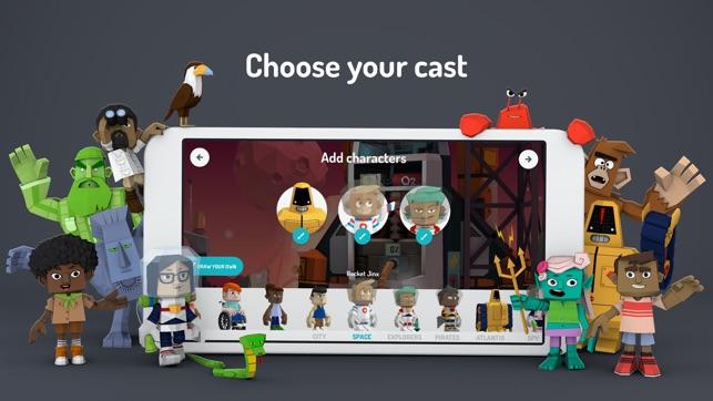 Toontastic 3D Screenshot