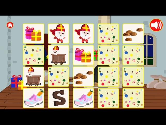 Sinterklaas Geheugen Spelletje Screenshot
