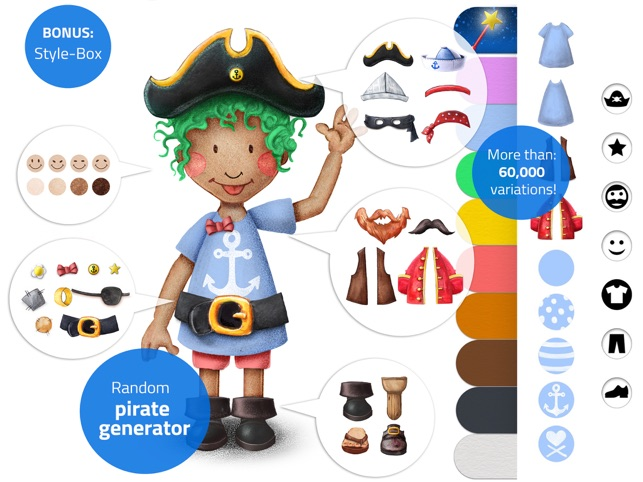 Tiny Pirates - Activity Book Screenshot