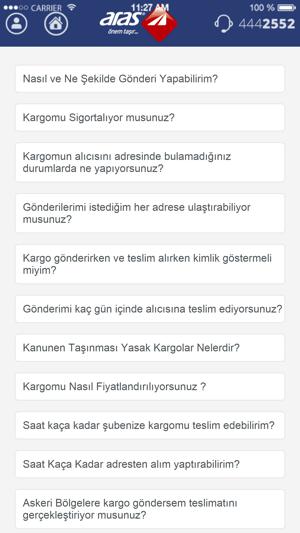 Aras Kargo Screenshot