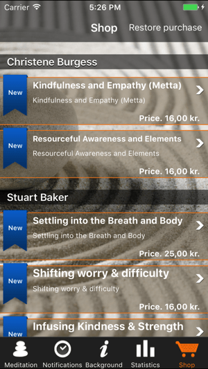‎iMindfulness Screenshot