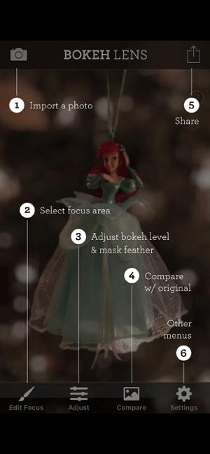 Bokeh Lens Screenshot