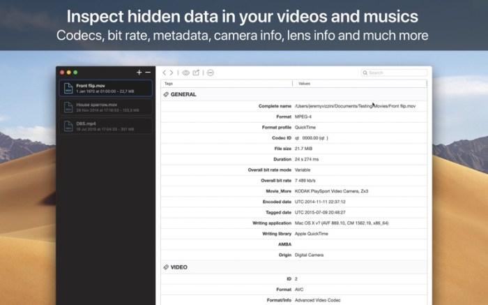 VideoScan Screenshot 01 rrwwjon