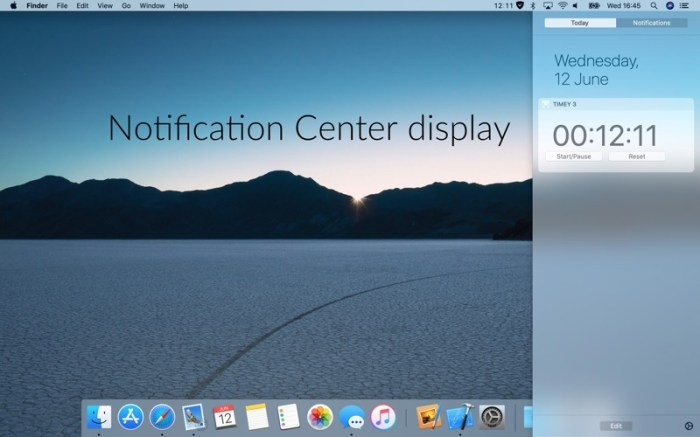 Timey 3: menu bar timer Screenshot 05 f5mxejn