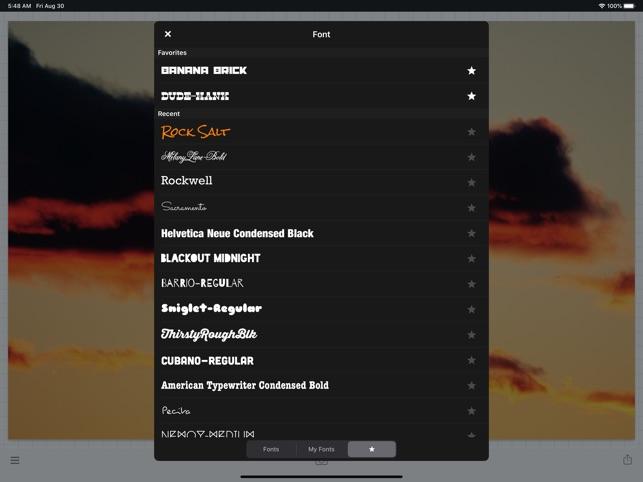 Phonto - Text on Photos Screenshot