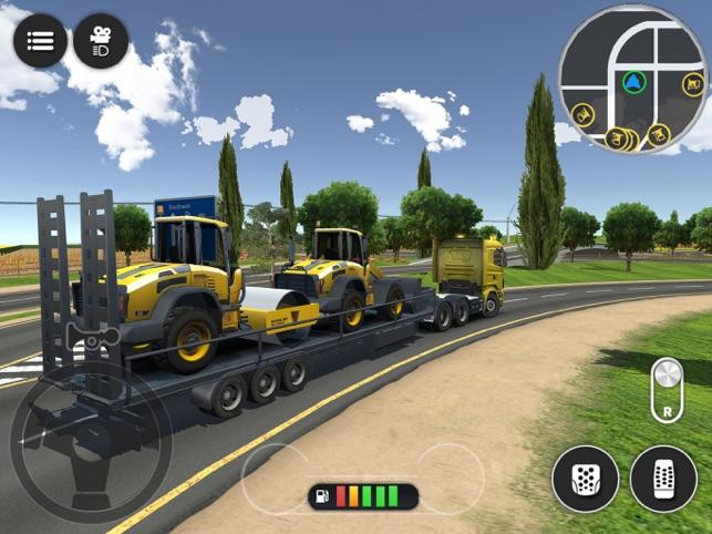 Drive Simulator 2: Truck Game Screenshot