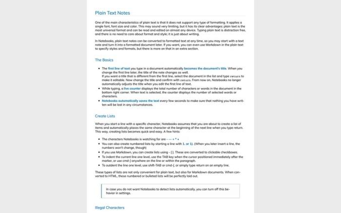 Notebooks - Write and Organize Screenshot 08 1356obn