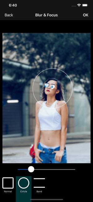 VisualX Photo Editor & Effects Screenshot
