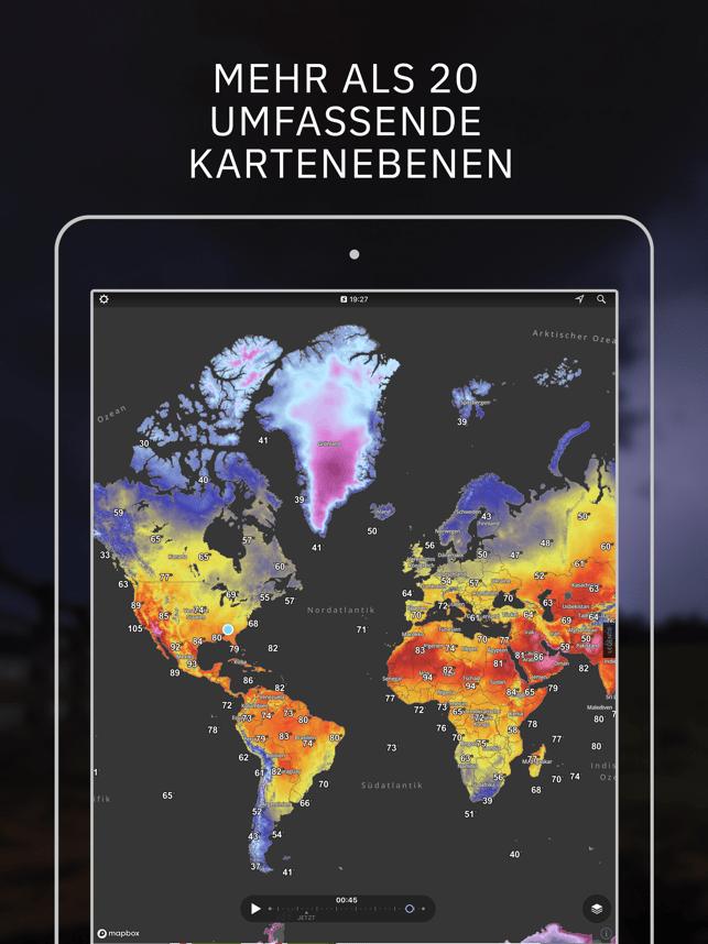 Storm Radar: Wetterkarte Screenshot