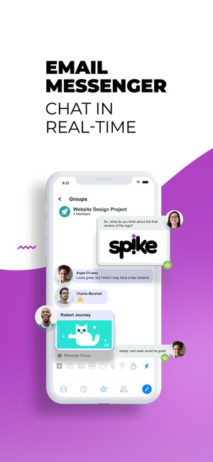 ‎Spike Email - Team Mail & Chat Screenshot