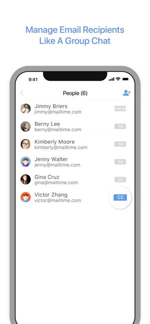 MailTime Pro Email Messenger Screenshot
