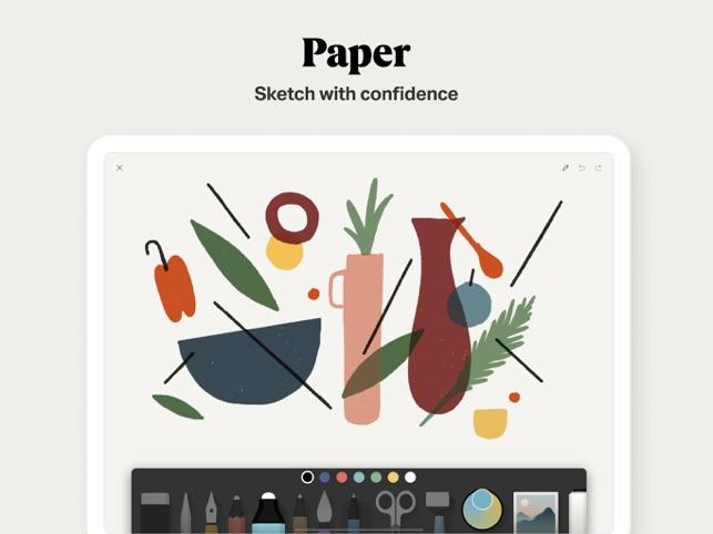 Paper by WeTransfer Screenshot