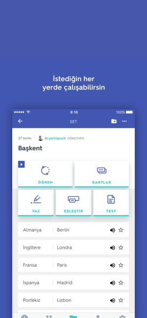 ‎Quizlet Screenshot
