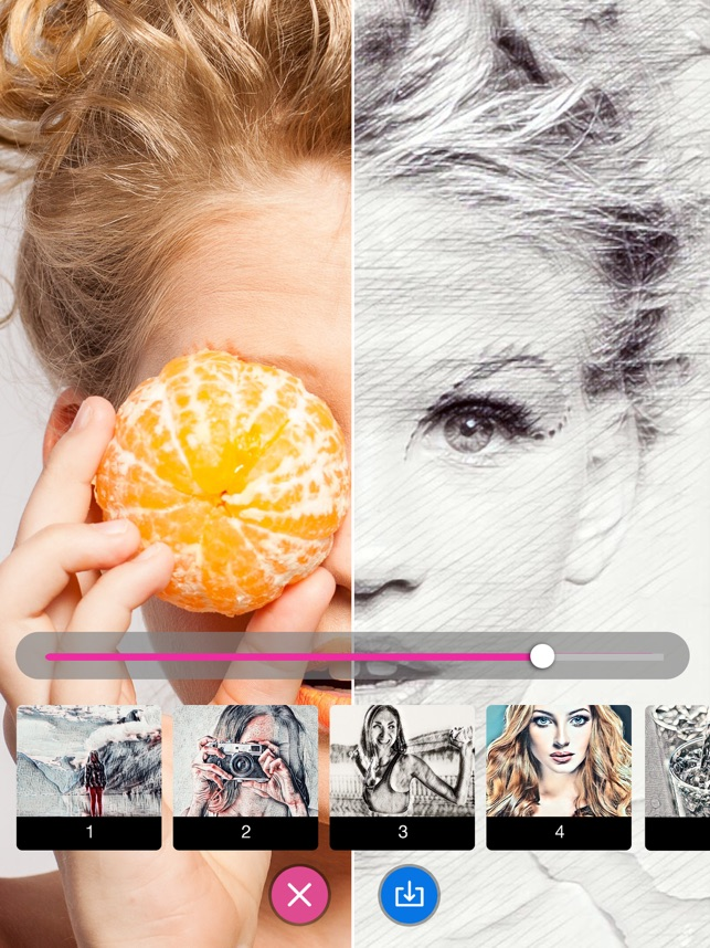 Sketch Pictures- Pencil Sketch Screenshot