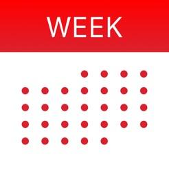 WeekCal for iPad