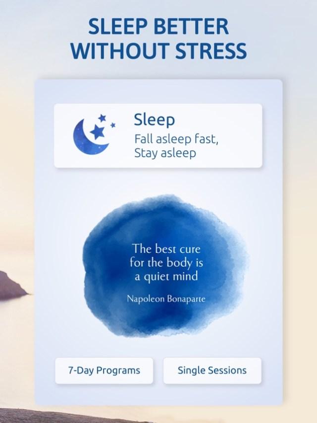 Meditation and Relaxation Pro Screenshot