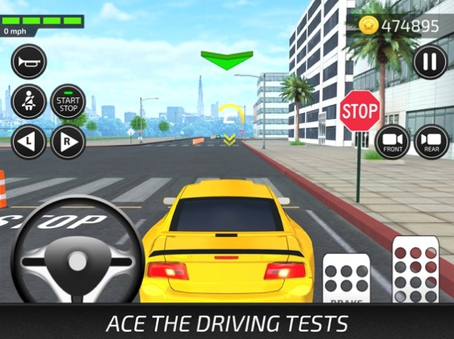 Driving Academy 2018 Simulator Screenshot
