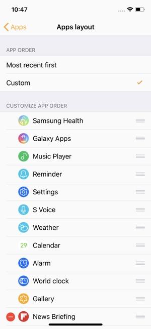 Samsung Gear S Screenshot