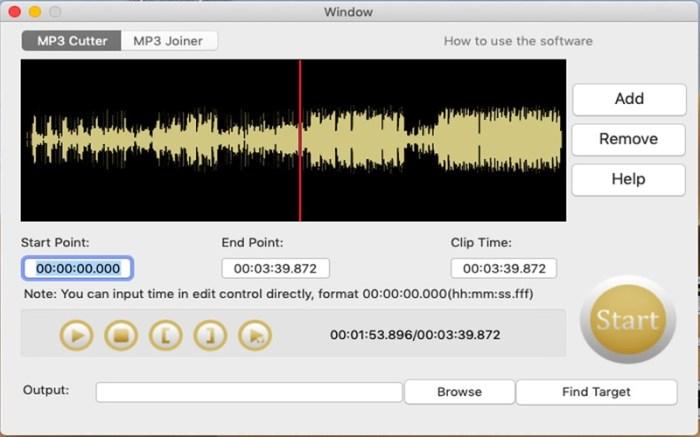 MP3 Cutter Joiner Screenshot 01 135tqtn