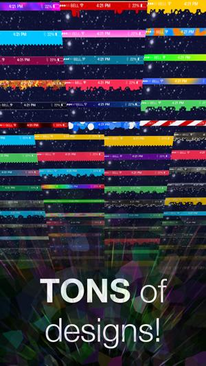 Status Art - Custom wallpaper Bar effects Screenshot