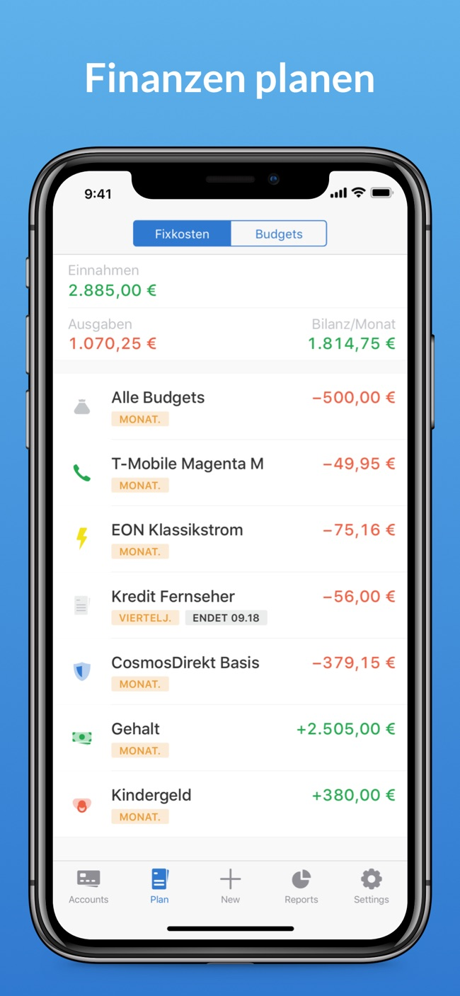 Outbank: Intelligent Banking Screenshot