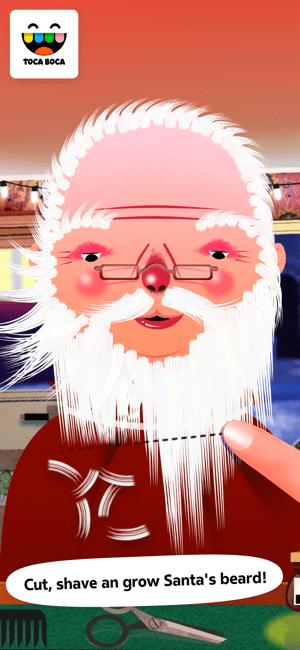 Toca Hair Salon - Christmas Screenshot