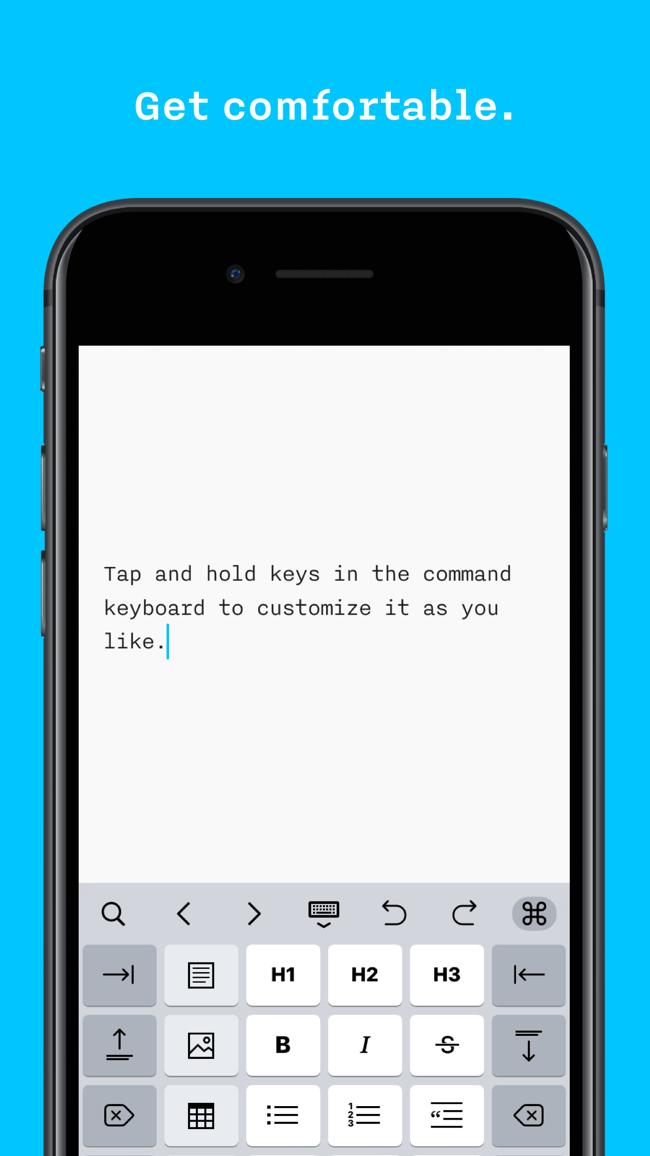 iA Writer Screenshot
