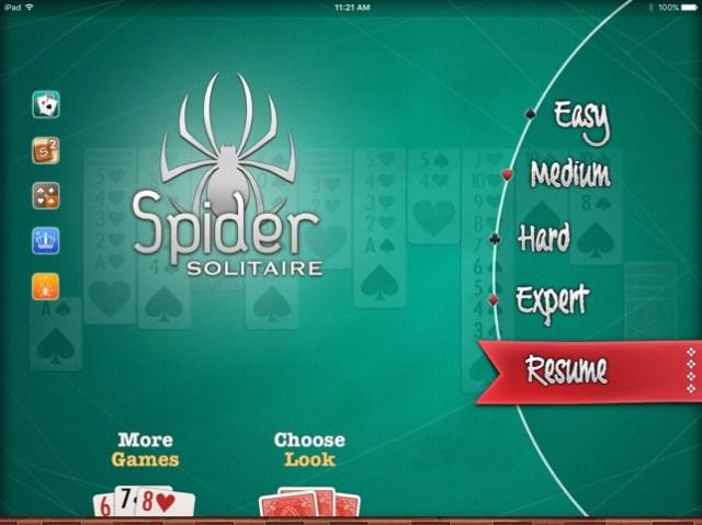 Spider ▻ Solitaire Screenshot