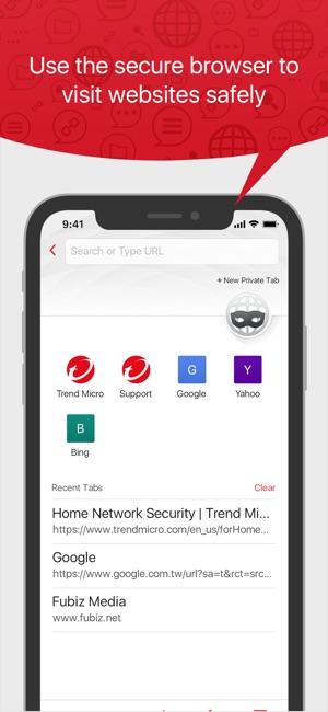 Trend Micro Mobile Security Screenshot
