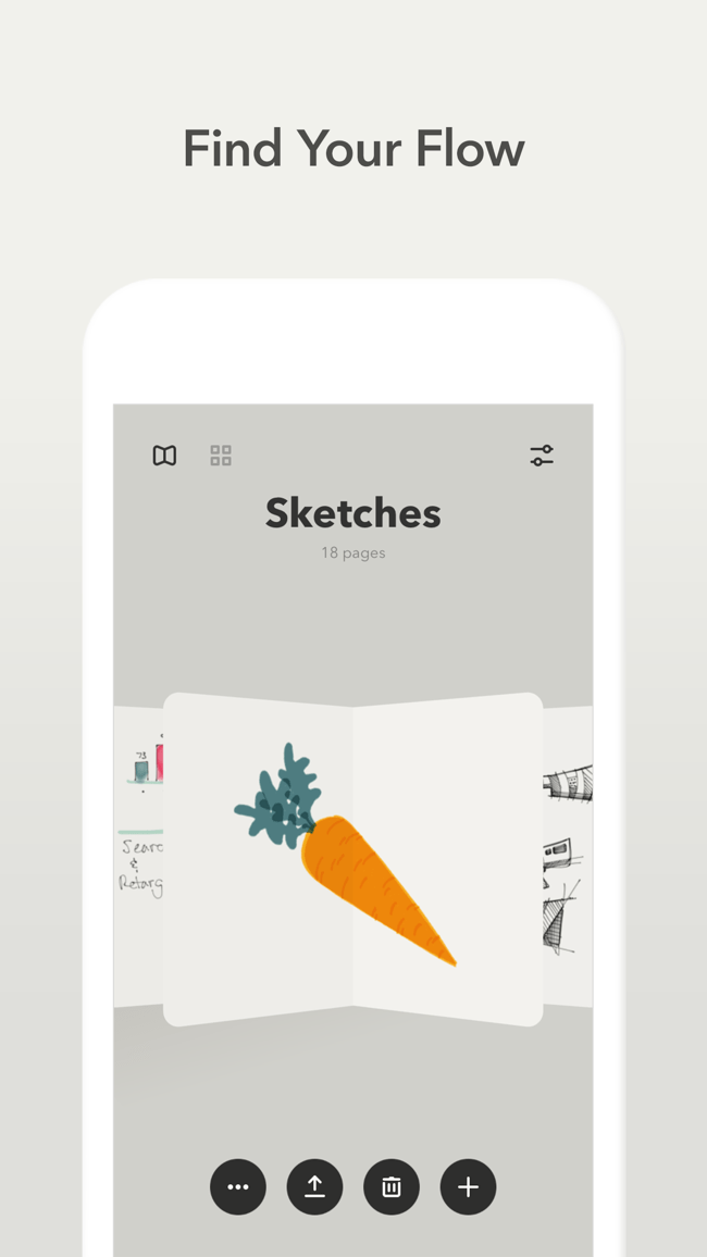 Paper von FiftyThree Screenshot