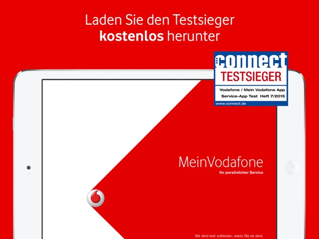 MeinVodafone Screenshot