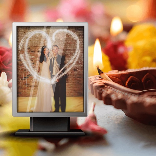 3D Diwali Photo Frame - Amazing Picture Frames & Photo Editor
