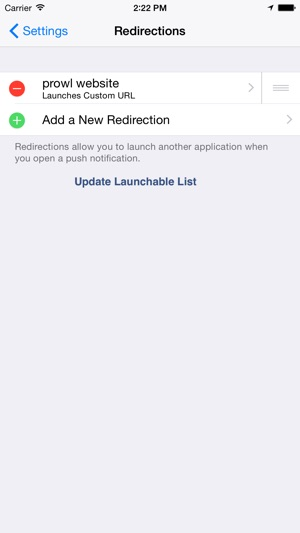 Prowl: Easy Push Notifications Screenshot