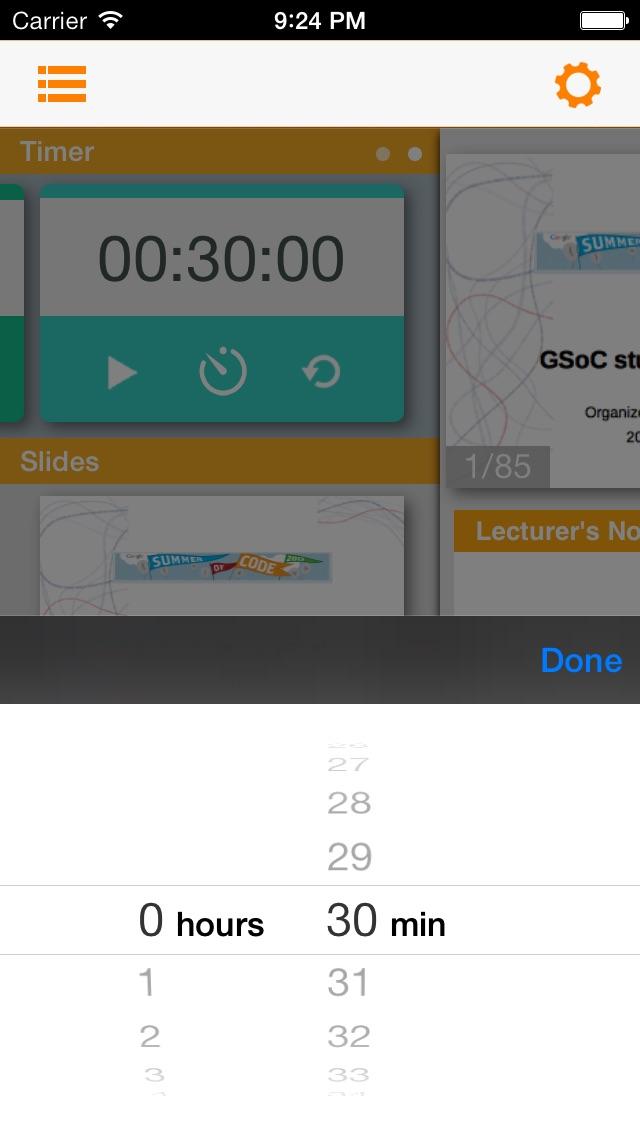LibreOffice Remote for Impress Screenshot
