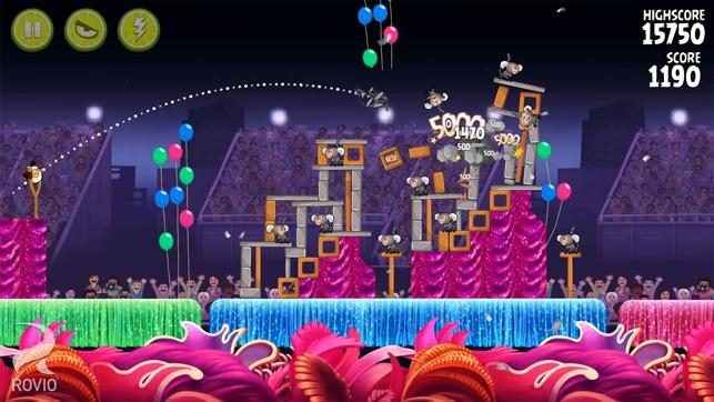 Angry Birds Rio Screenshot