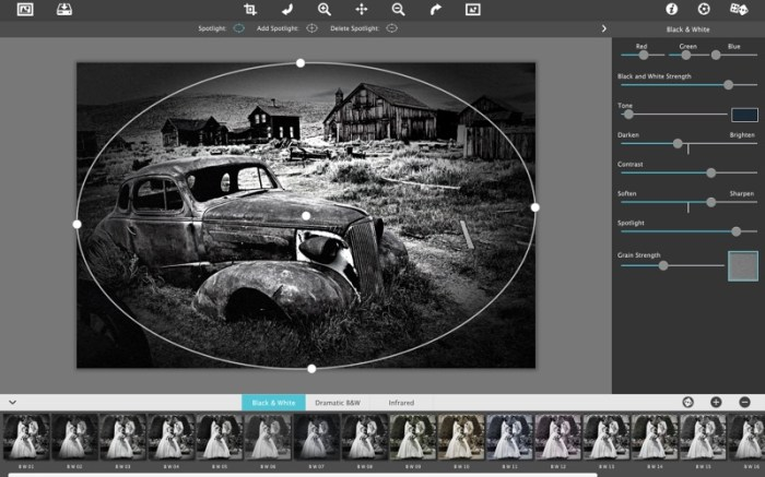 Dramatic Black & White Screenshot 01 1358t5n
