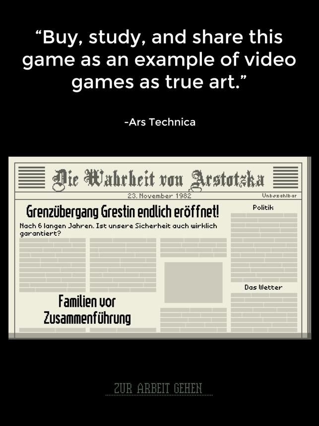 Papers, Please Screenshot