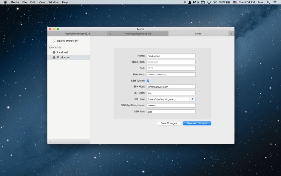Medis 0.6.0 Mac 破解版 - 漂亮易用的Redis管理应用
