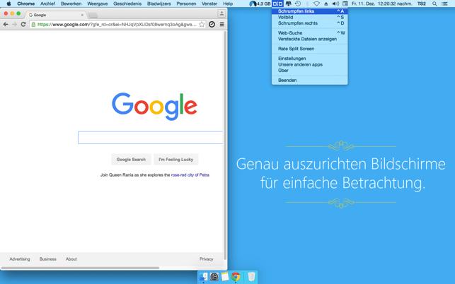 Split Screen Screenshot
