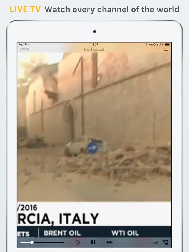 TV Streams Screenshot