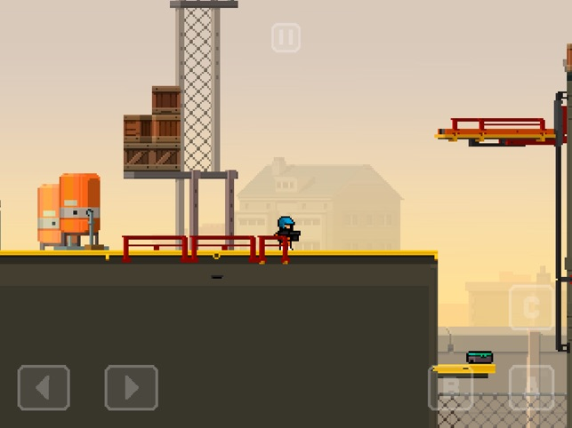 Prison Run and Gun Screenshot