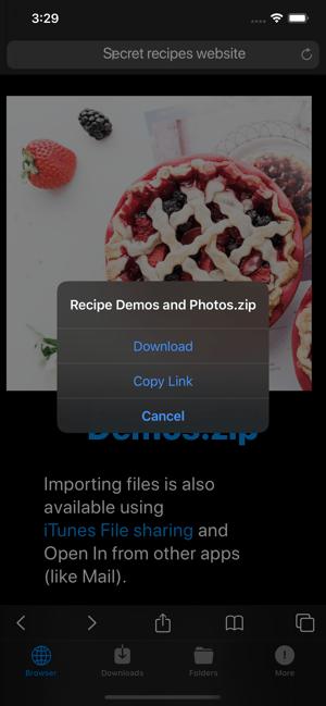 DManager Browser & Documents Screenshot