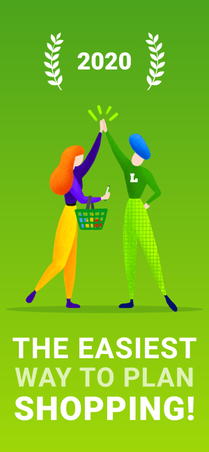 Listonic Grocery Shopping List Screenshot