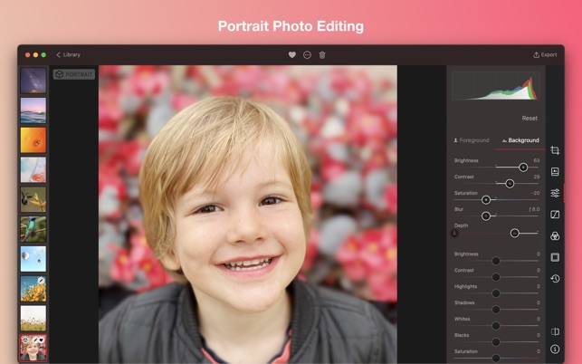 Darkroom: Photo & Video Editor Screenshot