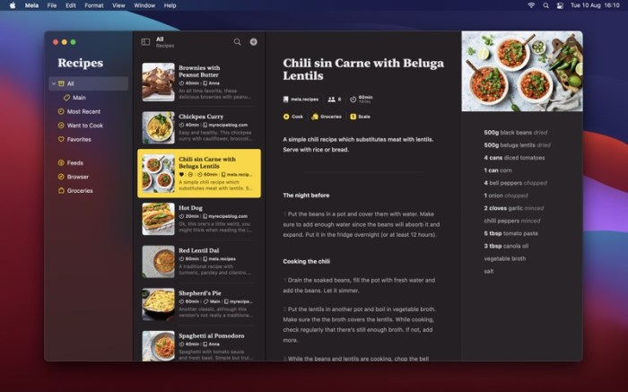 Mela – Recipe Manager Screenshot 06 9wg6z1n