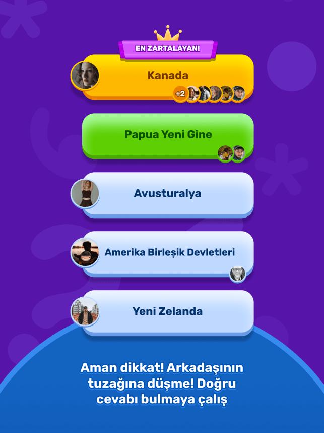 Zarta - Sosyal Bilgi Yarışması Screenshot
