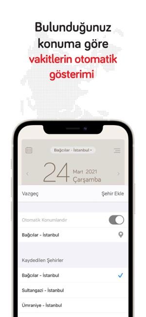 Fazilet Takvimi: Namaz Vakti Screenshot
