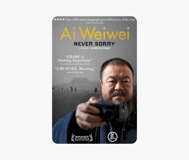 Ai Weiwei Never Sorry On Itunes