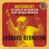 Leonard Bernstein & New York Philharmonic - Mussorgsky: Pictures at an Exhibition, Night on Bald Mountain (Expanded Edition)  artwork